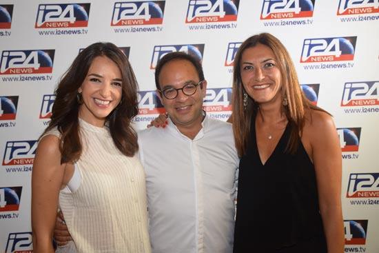 הזוג רבקה ופרנק מלול ולוסי אהריש / צלם: ספיר דהן צ'יז מגנטים
