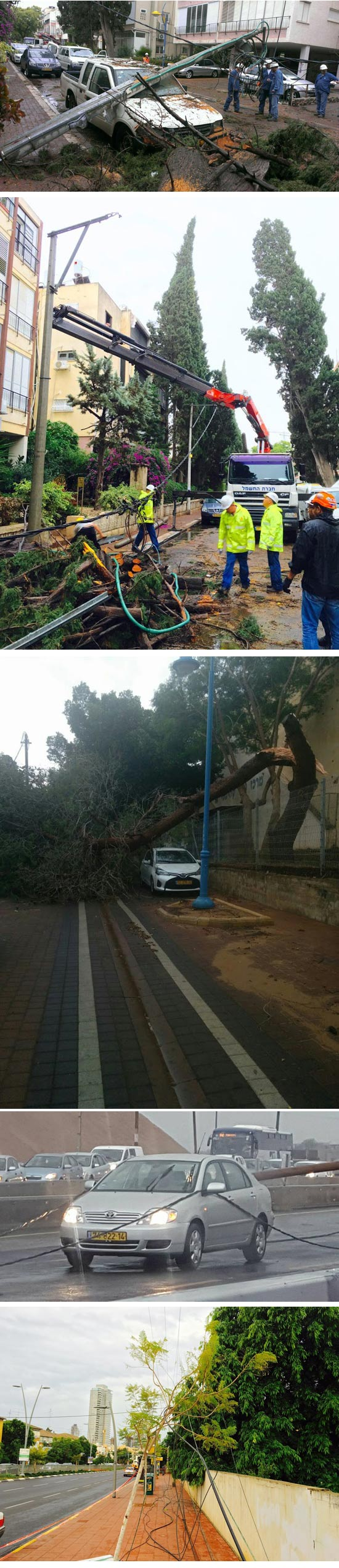 סערה / צילום: חברת חשמל