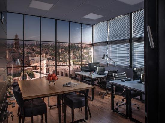 חדר עבודה offix / צילום: אבשלום לוי