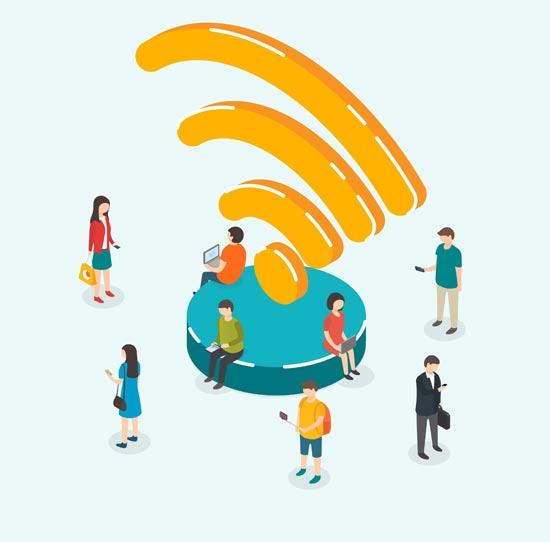 החיפוש אחר ה-WiFi/ צילום: Shutterstock/ א.ס.א.פ קרייטיב