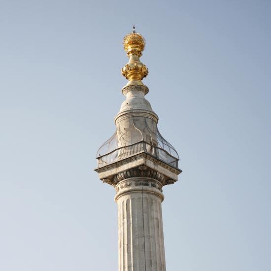 האנדרטה לזכר השריפה הגדולה של 1666 בלונדון/  צילום:  Shutterstock/ א.ס.א.פ קרייטיב