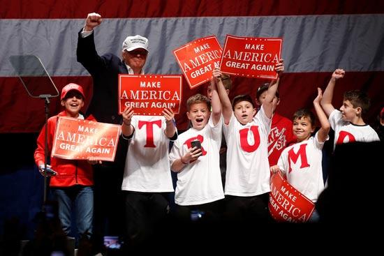דונלד טראמפ, בחירות  / צילום: רויטרס