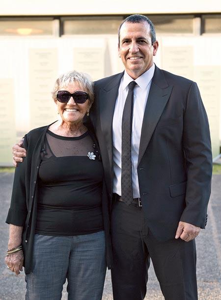 איל ומרים וולדמן / צילום: עומר טל