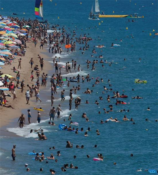 חוף הים צילום: רויטרס
