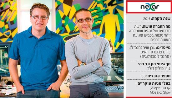 מייסדי Nexar / צילום: אריק סולטן