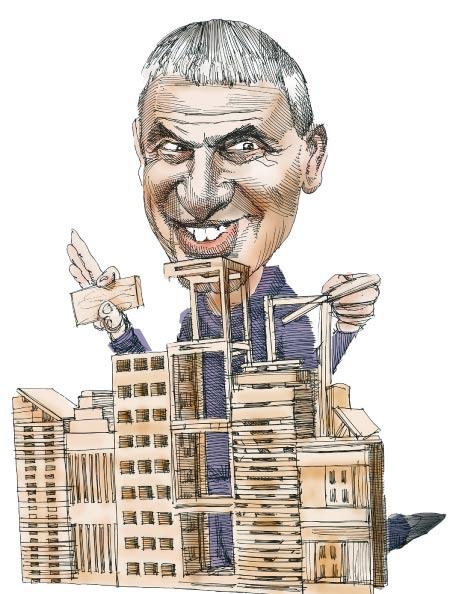 הנעלמים של הבנייה הלא-חוקית / איור: גיל ג'יבלי