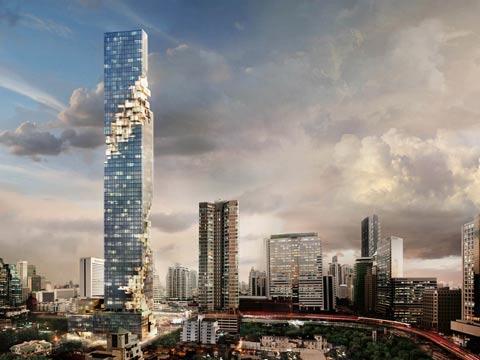 מגדל בבנגקוק/ צילום: מהוידאו
