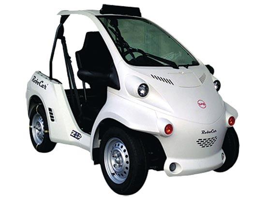 מכונית אוטונומית של ZMP / צילום: יחצ