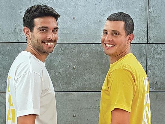 הבעלים אוהד סנדלר (מימין) ואדם פרידלר / צילום: רותם גרוסמן
