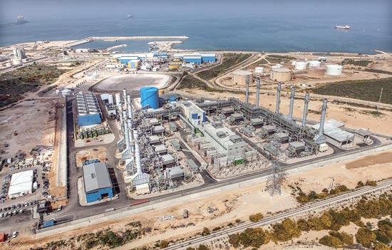 תחנת הכוח דוראד / צילום: יגאל גורן