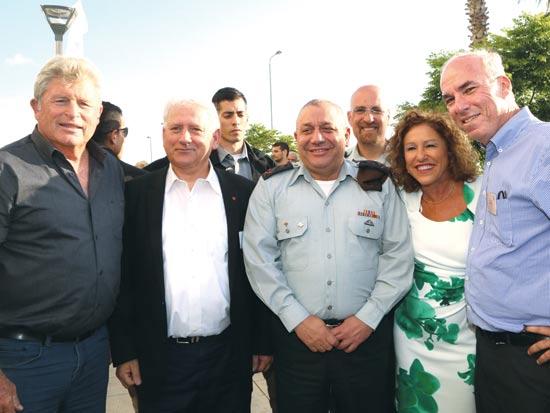 פישר, דרוקר, איזנקוט, סרוסי ויאיר / צילום: סיון פרג'