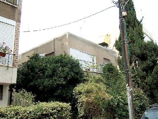 """הבית בלוי יצחק 15. ייהרס וייבנה מחדש / צילום: יח""""צ"""