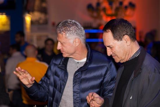 טל ברודי ומיקי ברקוביץ / צילום: יחצ