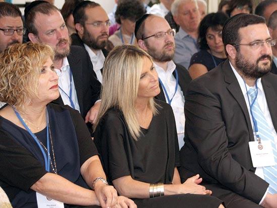 משה פרידמן, עדי סופר תאני, זיקה אב-צוק /  צילום: בועז בן ארי