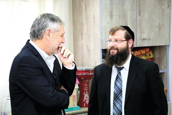 אריה מונק ומאיר כהן / צילום: יחצ