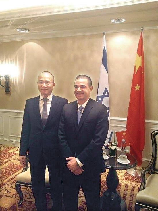 לנג וגואו גואנצ'אנג/ צילום: יחצ פוסון