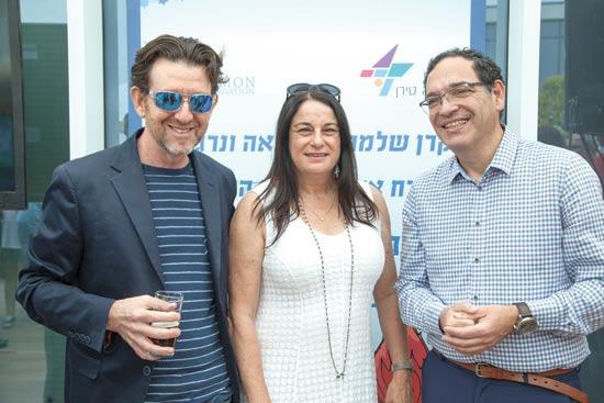 שי פירון, רונה רמון, יואש טרוקמן / צילום: ארז חרודי