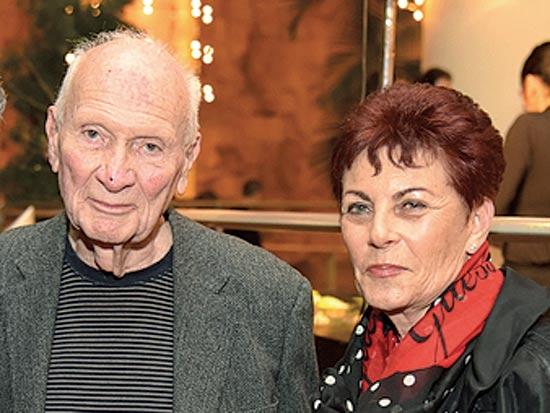 שמגר ואשתו / צילום: ארז דולב