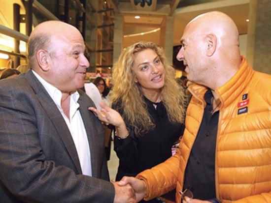 רון צוקרמן, מיכאלה ברקו ודוד פורר / צילום: איציק בירן