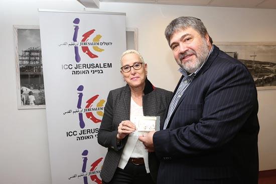 ג'ון מדבד ומירה אלטמן/ צילום:מיכל פתאל