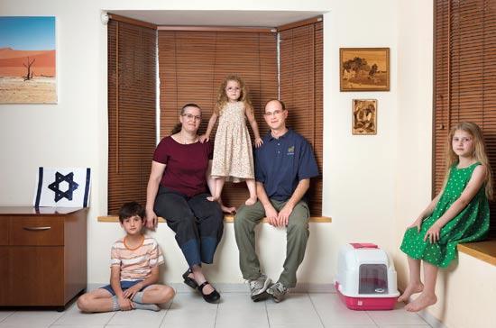 משפחת וולוסקו / צילום: יונתן בלום