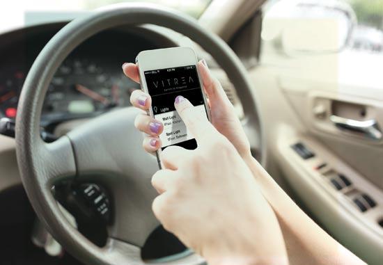 """הפעלה של מערכת המיזוג , תאורה ותריסים באמצעות אפליקציה בדרך הביתה / צילום: יח""""צ AVITREA"""