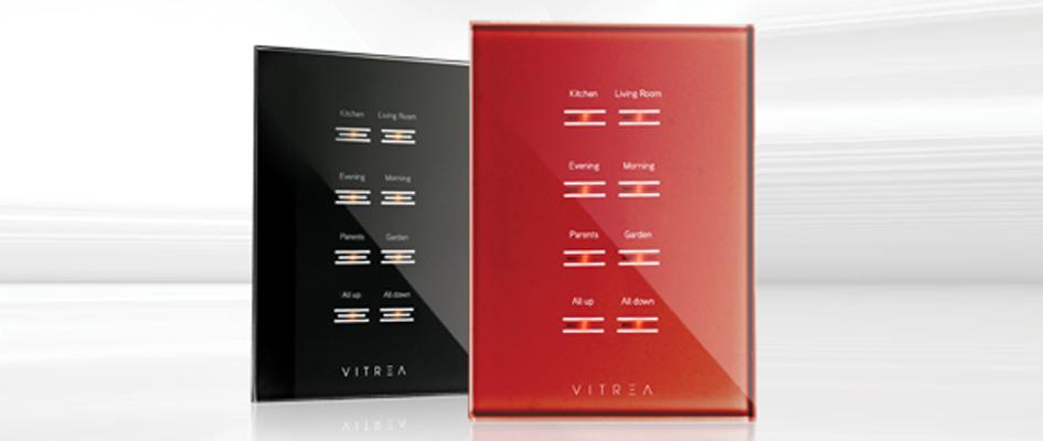 """מגוון מפסקי מגע מזכוכית להפעלות שונות בעיצוב בהתאמה אישית / צילום: יח""""צ AVITREA"""