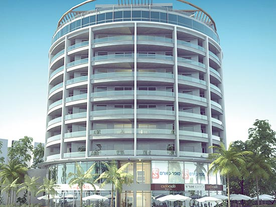 """פרויקט WOW הדמיית הבניין / הדמיה: יח""""צ"""