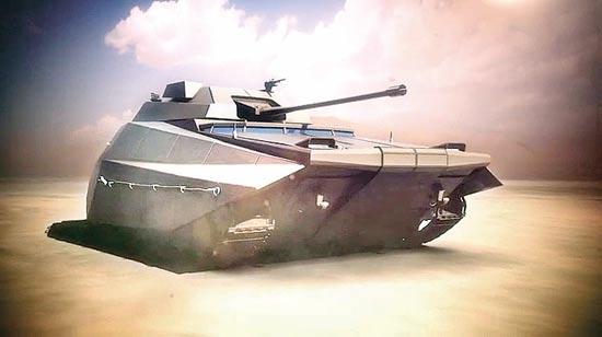 טנק כרמל/ צילום והדמיה : מפאת