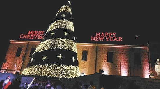 אווירת חג מולד בשפרעם  / צילום: אורלי גנוסר