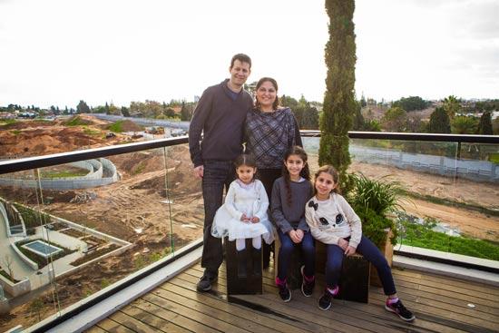 משפחת זילברבנד  / צילום:שלומי יוסף