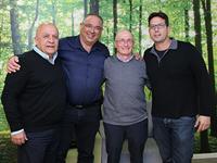 """הראל מנור,ד""""ר ירון לנג, ד""""ר מודי נפתלי, ד""""ר ישראלי דוד/ צילום: יח""""צ"""