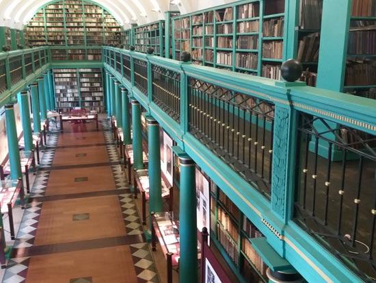 הספרייה בקולג' הפרוטסטנטי    / צילום: באדיבות לשכת התיירות של דברצן