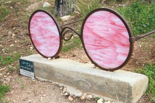 המשקפיים הוורודים/ צילום: רינת רוס