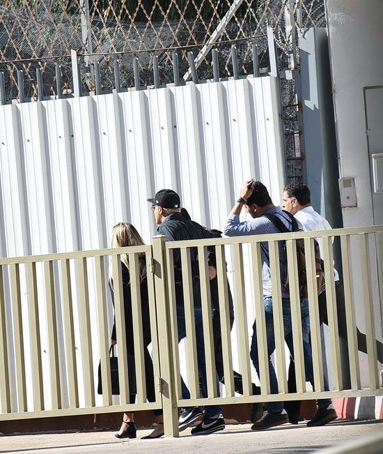 קובי פרץ נכנס לכלא / צילום: יוסי כהן