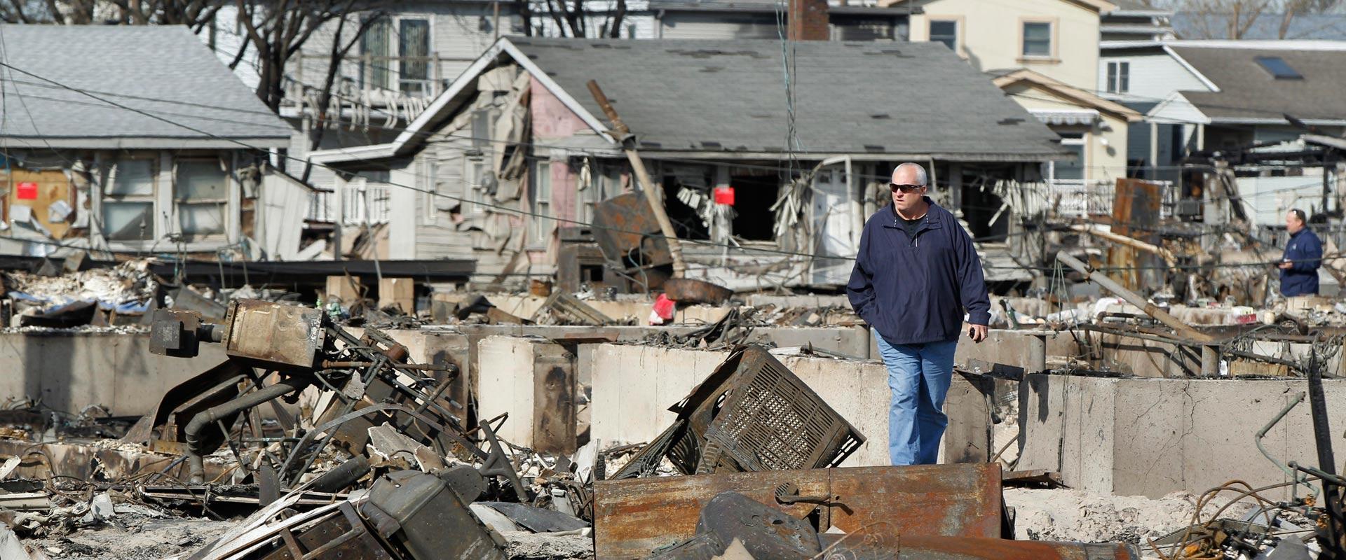 נזקי הוריקן סנדי / צילום: רויטרס