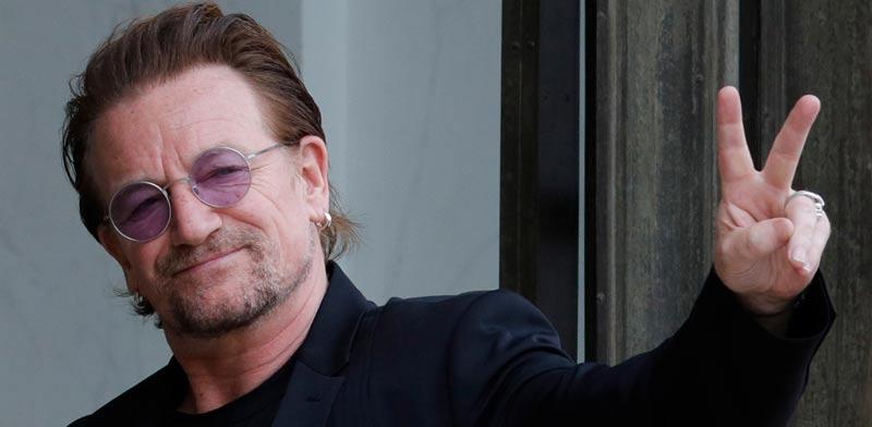 סולן U2 בונו/ צילום: רויטרס פיליפ ווגסר