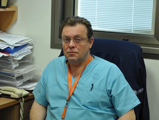 """ד""""ר אלכסנדר בלינקי/ צילום: יח""""צ"""