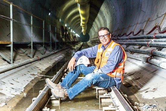 מנכל הרכבת הקלה יהודה בר-און / צילום: שלומי יוסף
