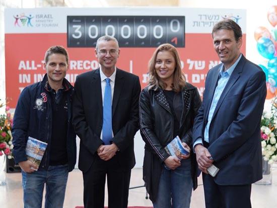 התייר ה-3 מיליון שנחת בישראל הוא למעשה תיירת מרומניה - איוואנה אייזק / צילום: צילום: דורון ברסקי
