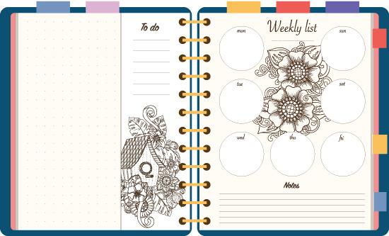 Bullet Journal. מעקב אחרי ביצועים / צילום:  Shutterstock