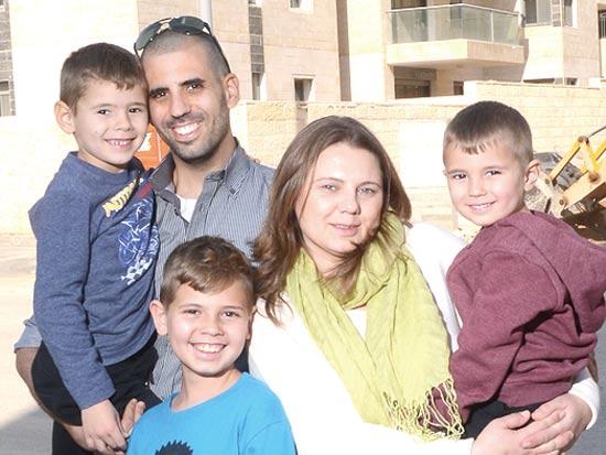 משפחת כהן / צילום: איל יצהר