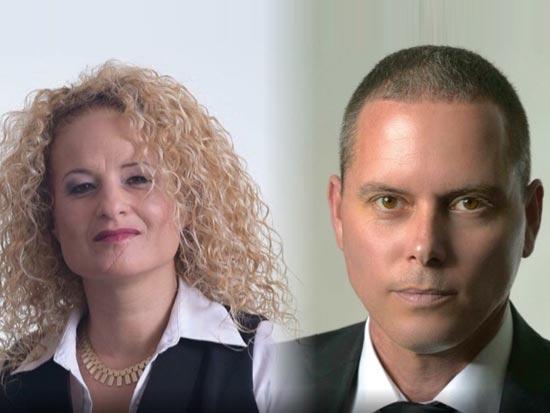 """עו״ד דורי שוורץ ועו״ד שיראל בר/ צילום: יח""""צ"""