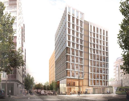 Framework Project בפורטלנד, אורגון / הדמיה: Lever Architecture