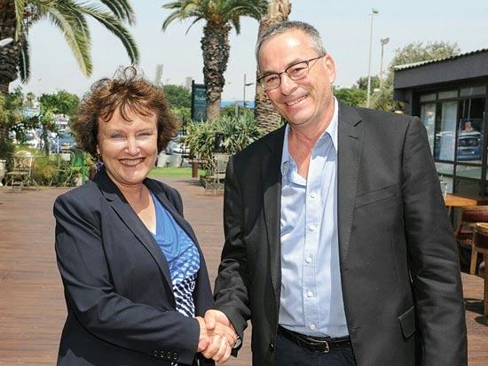 רוני בריק וקרנית פלוג / צילום: כפיר סיון