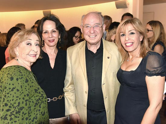 אודליה פרידמן, יעקב וניצה פרנקל וליא קניג /  צילום: ישראל פאצ'ו מלובני