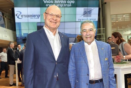 שמעון מזרחי ואיציק וייץ / צילום:גיא אסייג