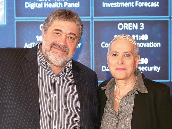 מירה אלטמן וג'ון מדבד / צילום: מיכל פתאל