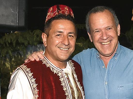 עודד שמיר וקובי נבון / צילום: יוסי כהן