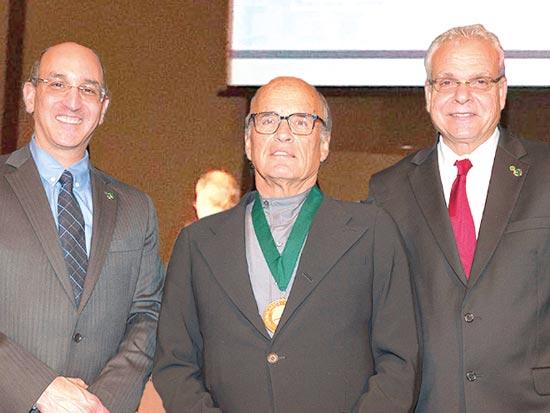 פול סנדברג (מימין), קובי ריכטר ודרו הירשפלד / צילום: Michal Golomb